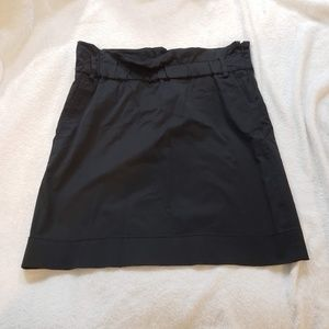Banana Republic Black A-Line Skirt w/ Pockets